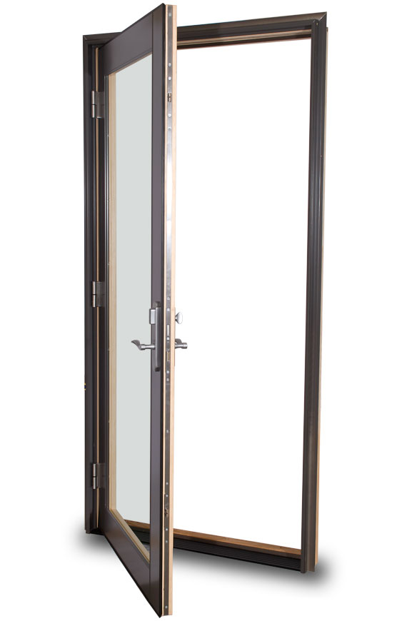 Reverse swinging exterior door thought differently