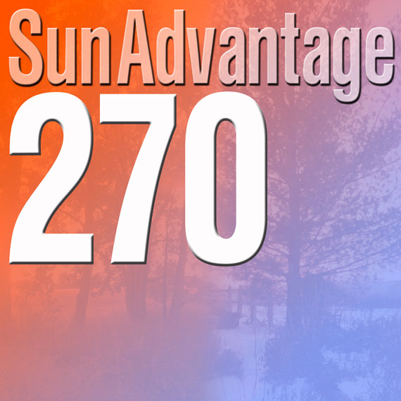 Sun Advantage 270 Glass logo