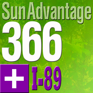 Sun Advantage 366 plus I-89