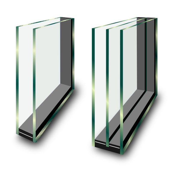 Dual Glazed and Triple Glazed Insulated Glass units