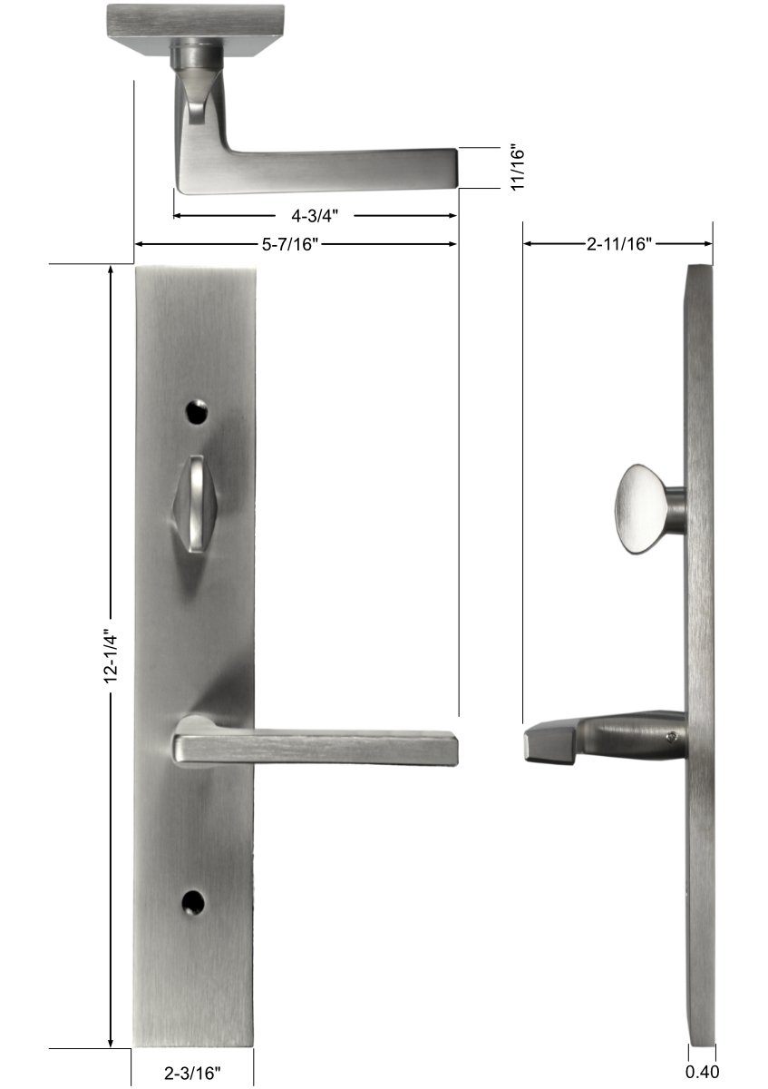Roma Handle Set Dimensions