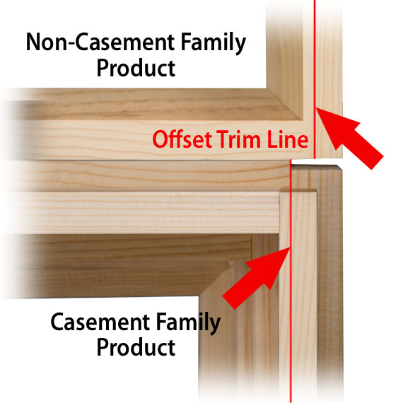 Illustration - Offset Trim Line
