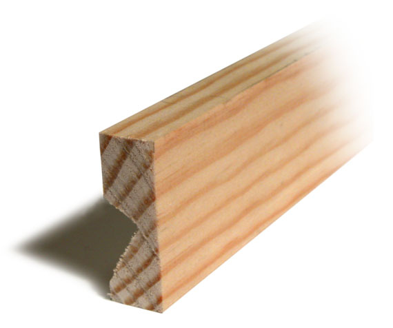 Two inch wood extension