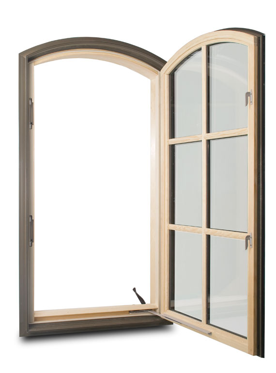 Arch top casement for Arch top windows